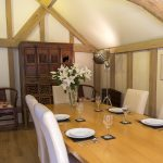 Cowshot Manor barn-dining area2