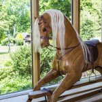 Cowshot Manor barn-rocking horse